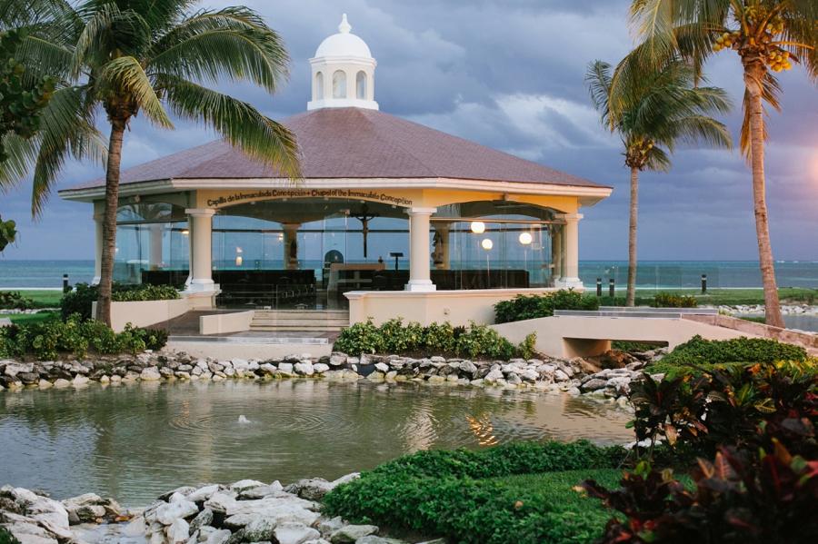 Moon Palace Resort The Seaside Catholic Chapel Planning Best Destination Wedding