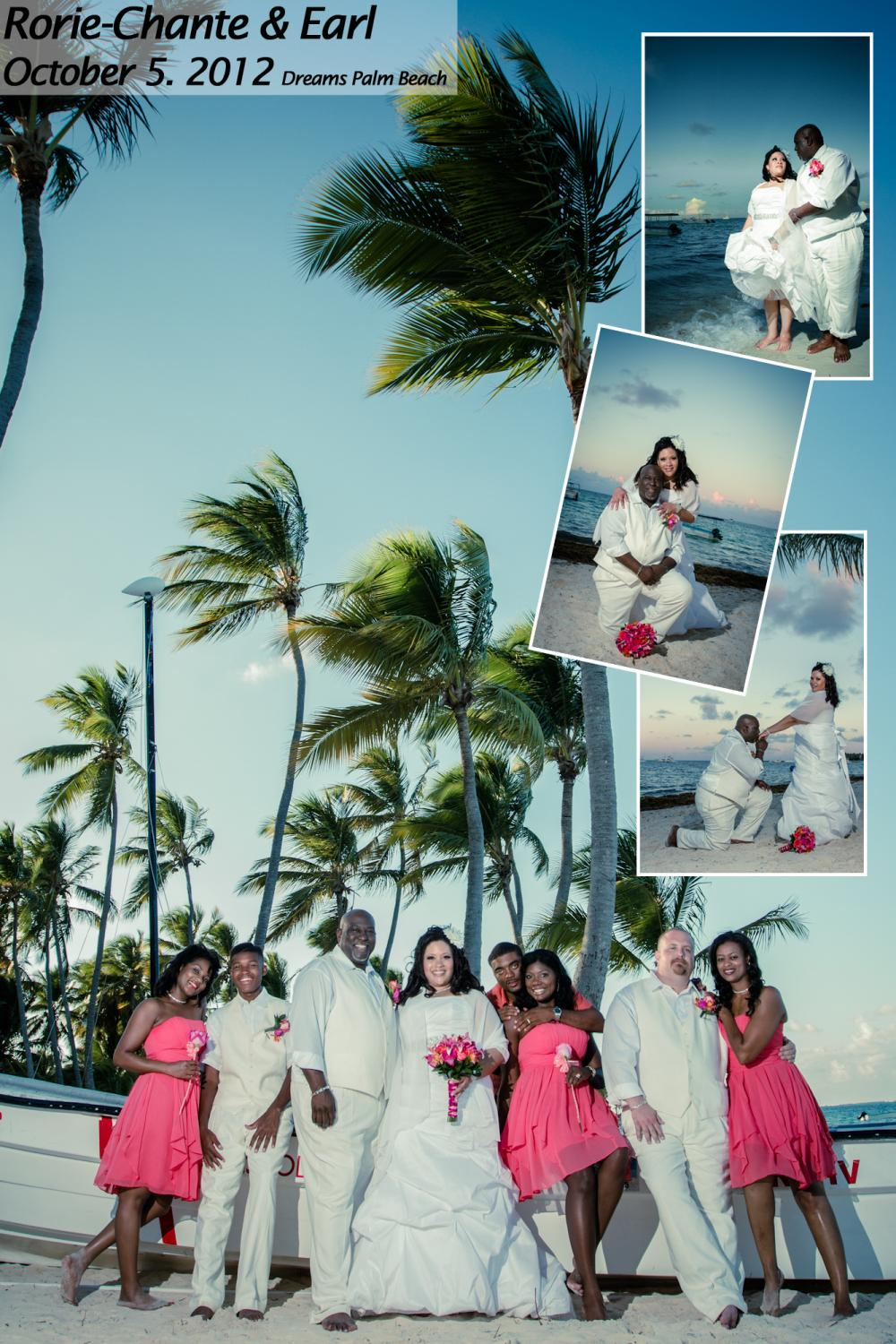 Dreams Palm Beach Brides 2012 - w/pics
