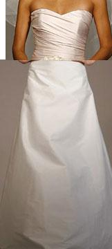 My dress, it's 2 pieces from Ramona Keveza, the color will be the skirt color