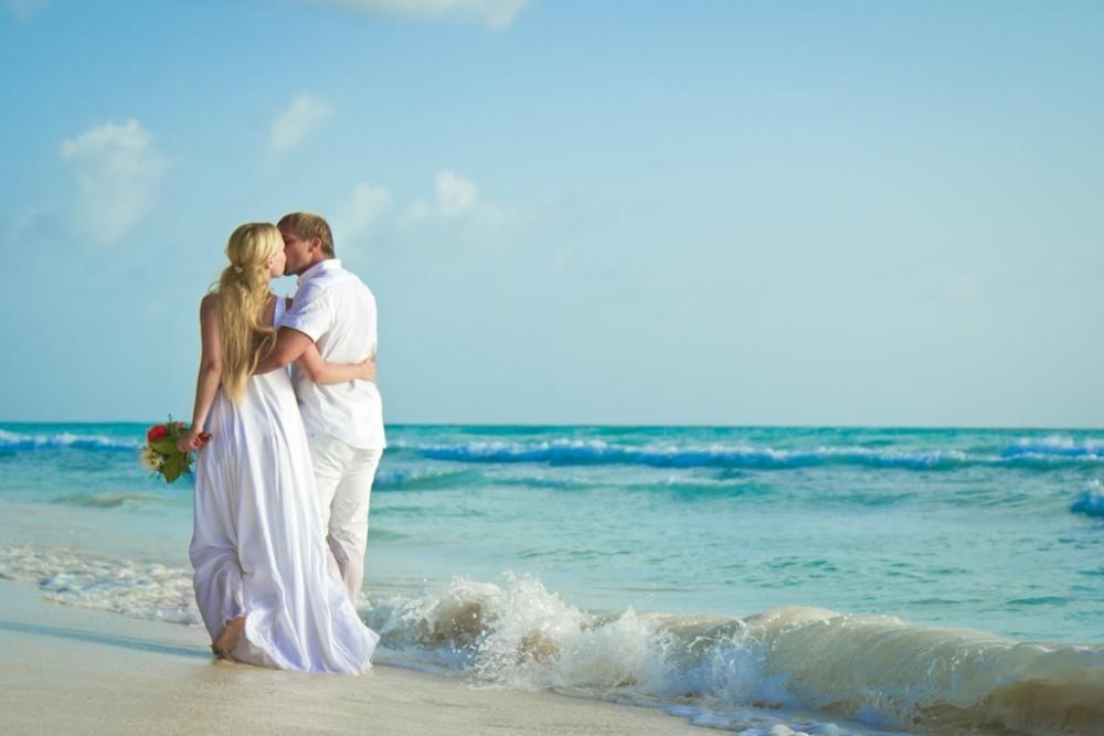 Evgeny & Evgenya at Saona Island, Dominican Republic