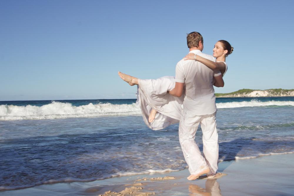 Dmitry & Natalya at Macao Beach, Dominican Republic