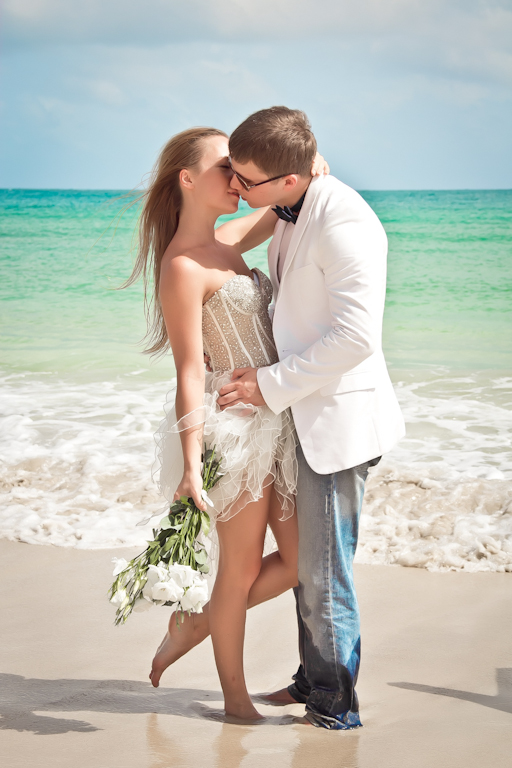 Dmitry & Olga at Macao Beach, Domincan Republic