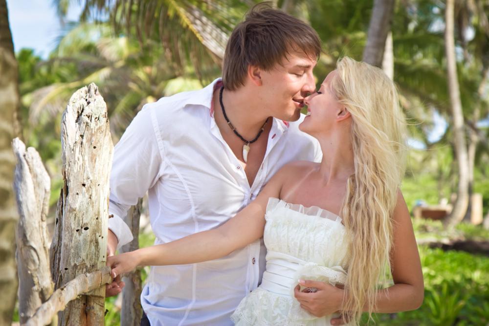 Andrey & Olga , at Macao beach, Dominican Republic