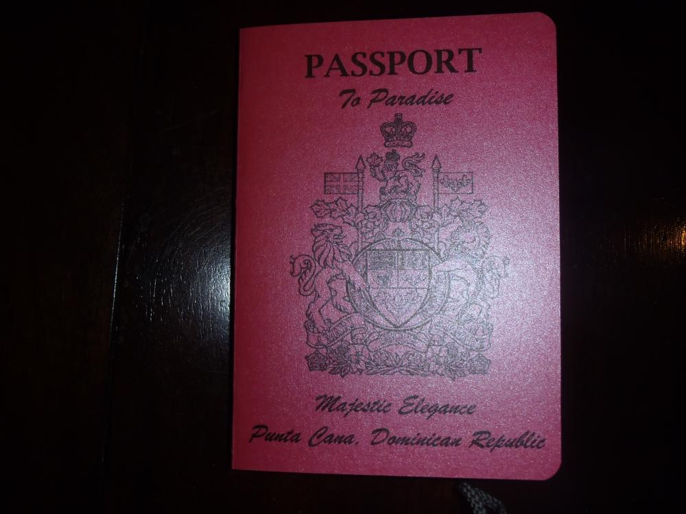 My DIY Canadian Passport Invitations. **Pics Included**