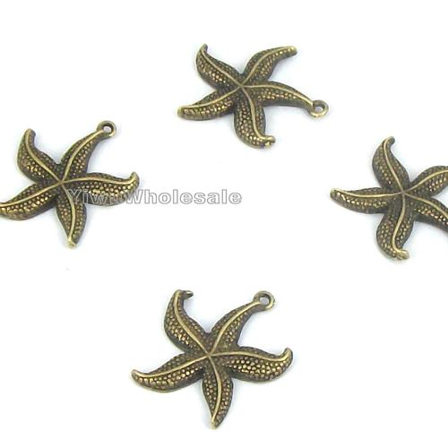 Silver Photo Frame Favors & Bronze Starfish Accents