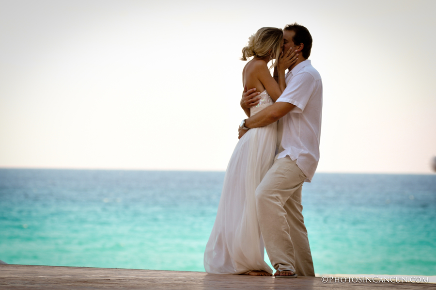 Wedding Kiss at The Ritz