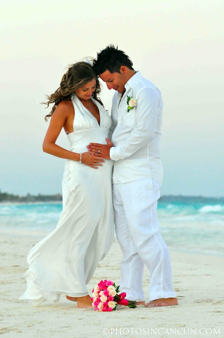 Tulum Wedding Beach Photo Photos In Cancun