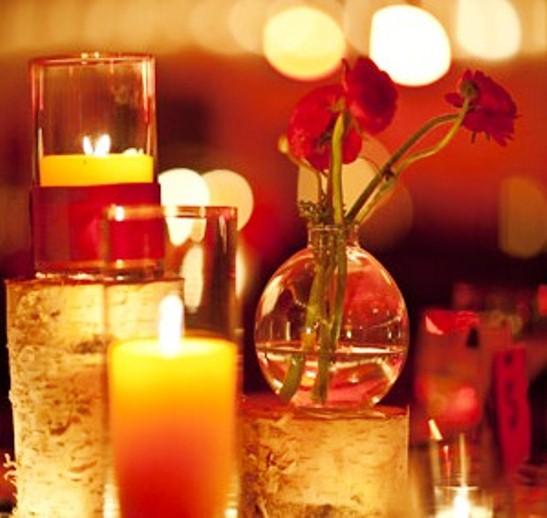 Wedding Centerpiece- Birch Candle Holders(set Of 70)