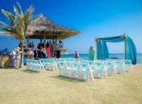 On-board reception VS On the island
