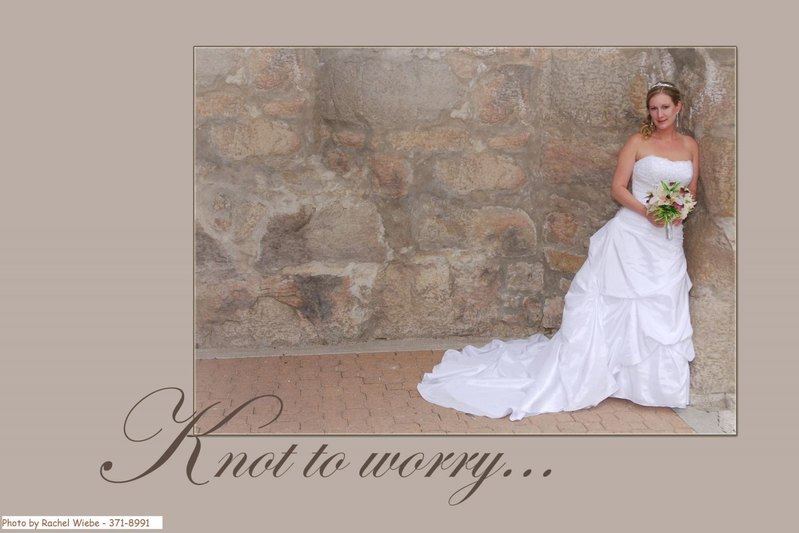 I am very easy to work with and I listen to my brides! I send you updates on the work of your bouquet over the Internet.  You will love your bouquet when you receive it because you helped design it!