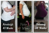 End Of pregnancy comparison