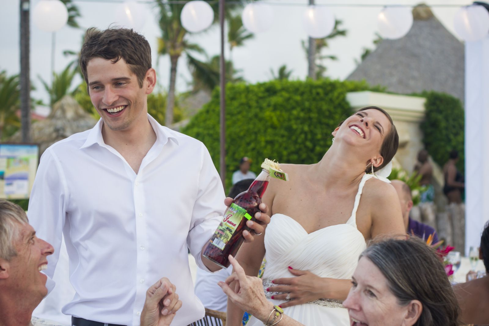 First wedding gift: a Mamajuana bottle!!
