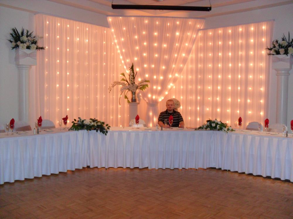 Patrick at the Head Table