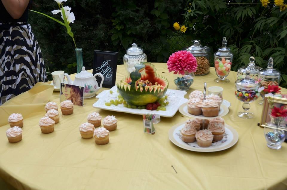 My Surprise Tea-Party Bridal Shower !!