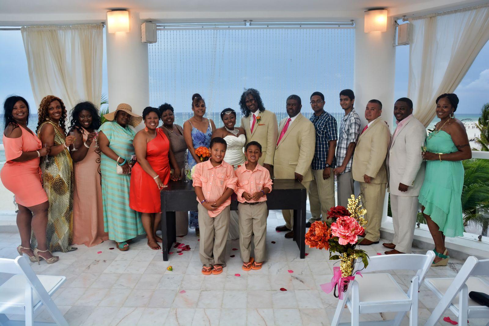 June 2013 Playacar Palace Brides