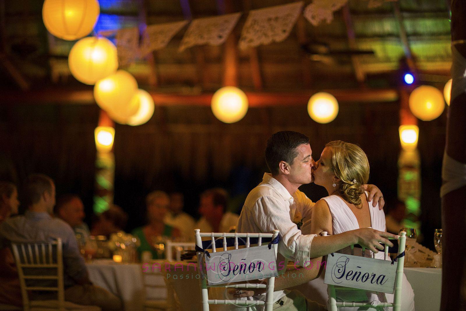 El Dorado Royale - Beach Destination Wedding  Photography by Sarani E.