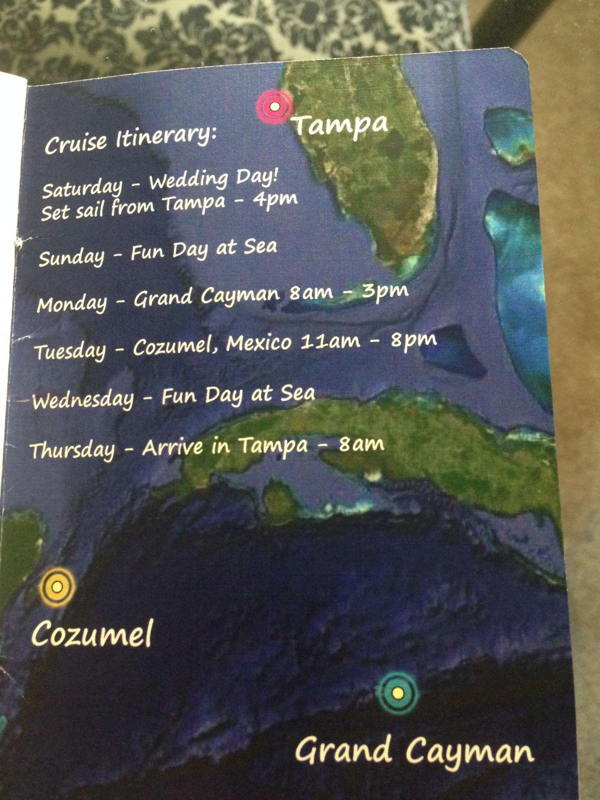 Our DIY Cruise Wedding Passport Invites (Pic Heavy!)