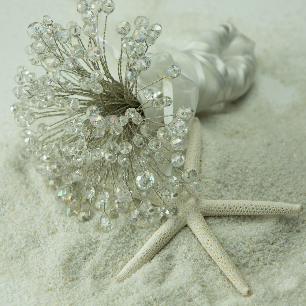 $112. Crystal Wedding Bouquet