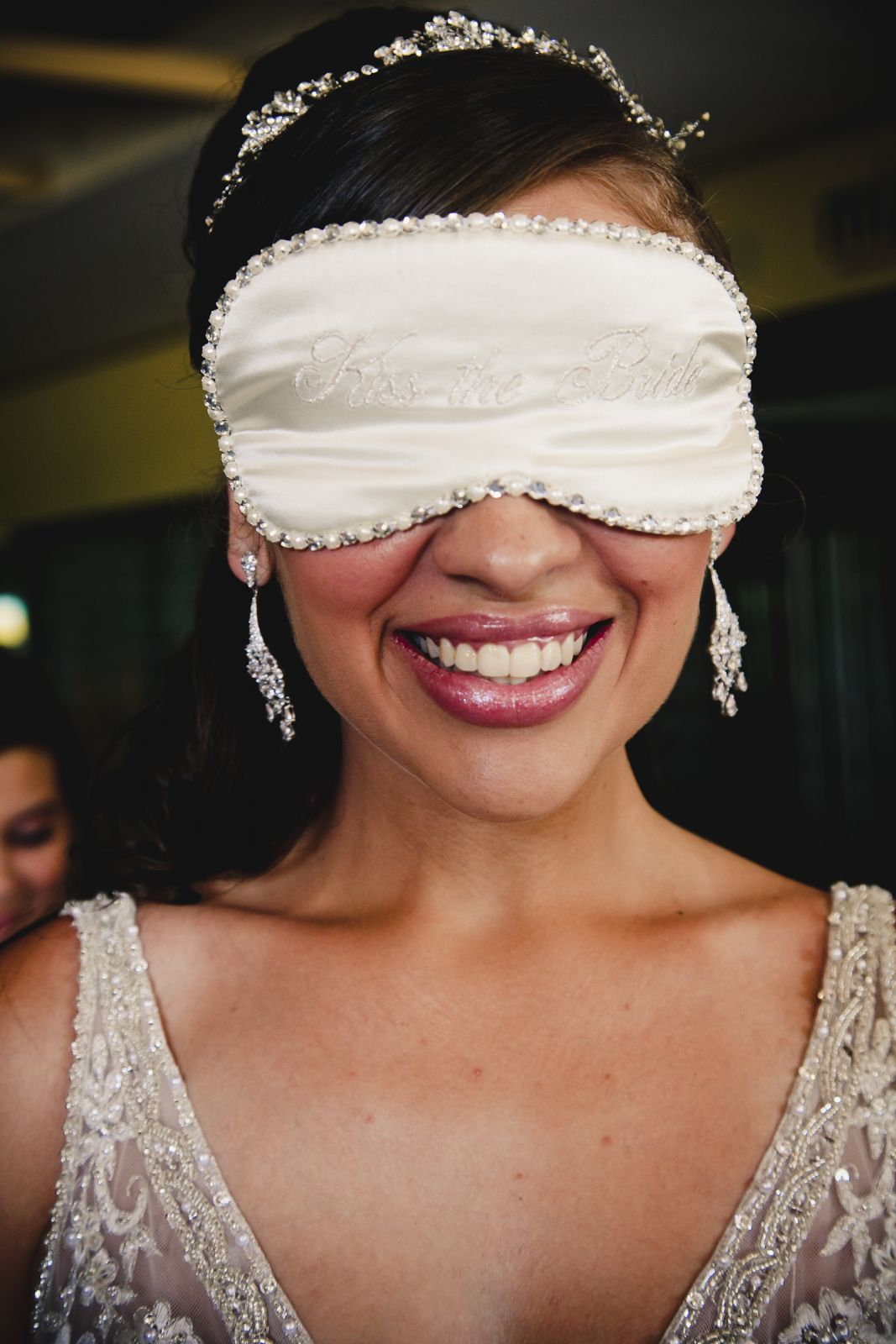 Blindfolded Bride
