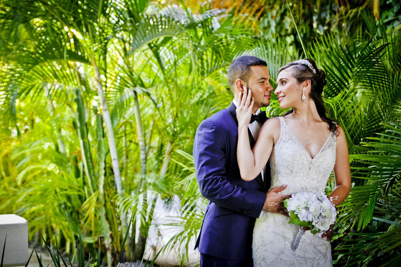 Paradisus Palma Real- 2013 Wedding- Church Ceremony at Jesus Maestro Parish & Beach Reception