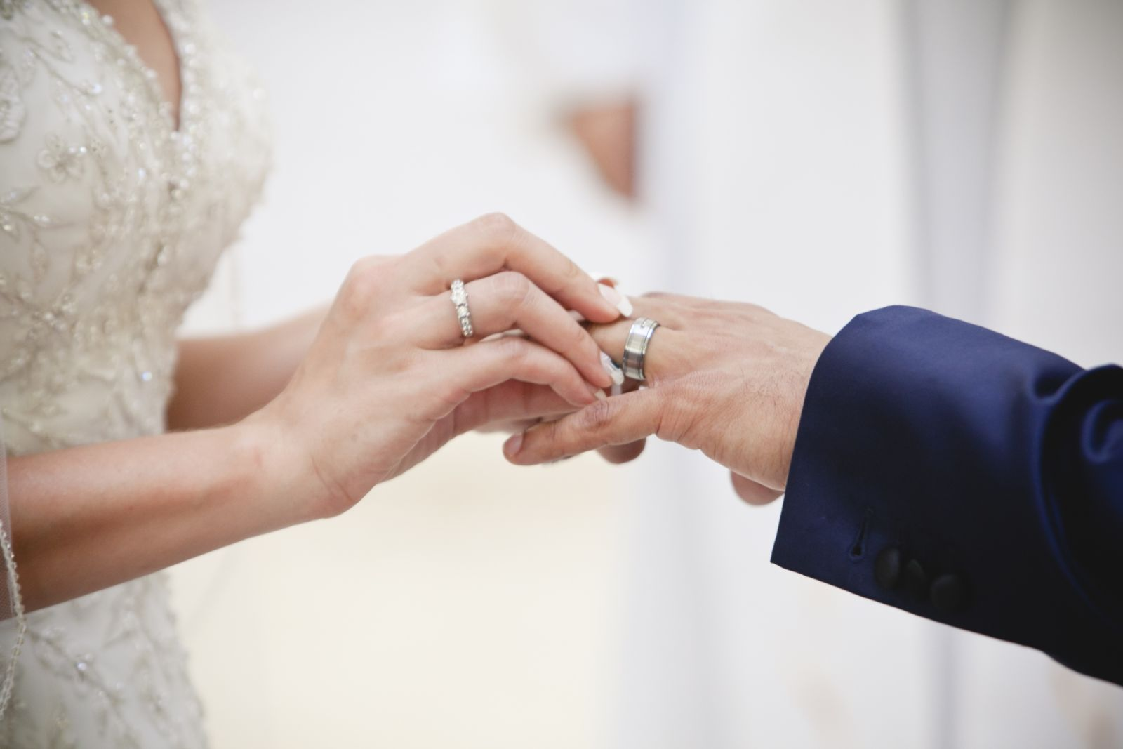 Our vows- his ring