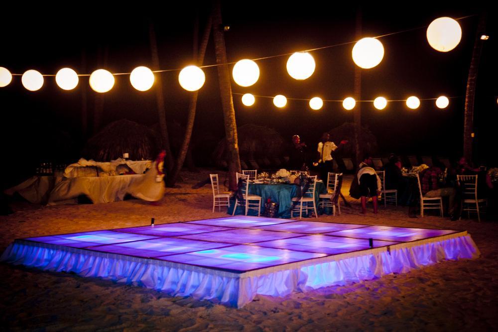 LED Dance floor courtesy of Dj Mannia