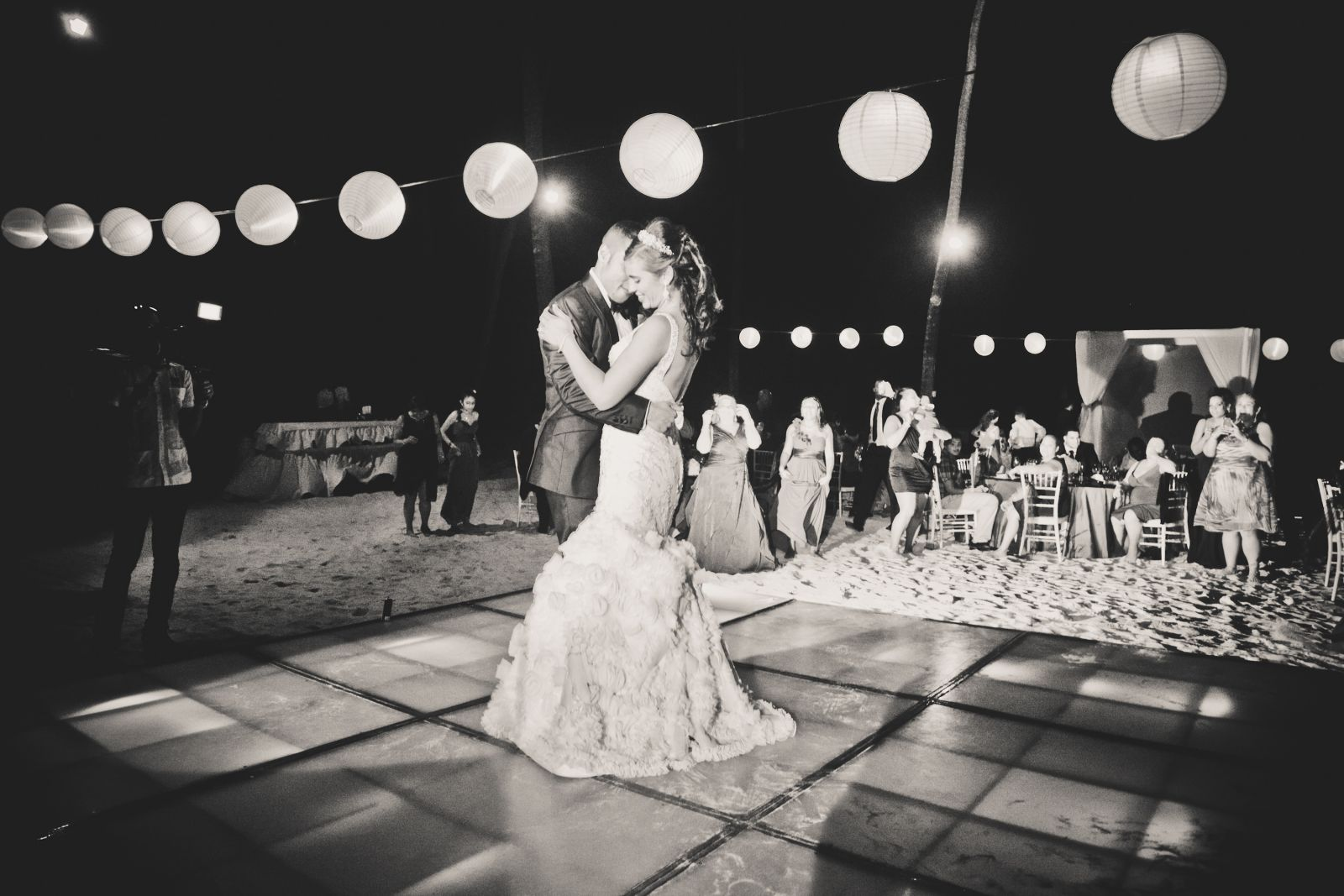 Our first dance