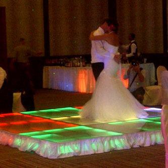 * leds dance floor
