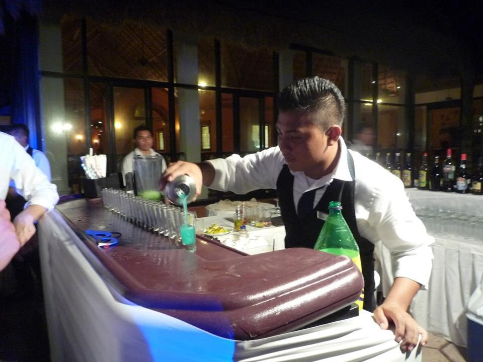 One of our bartenders