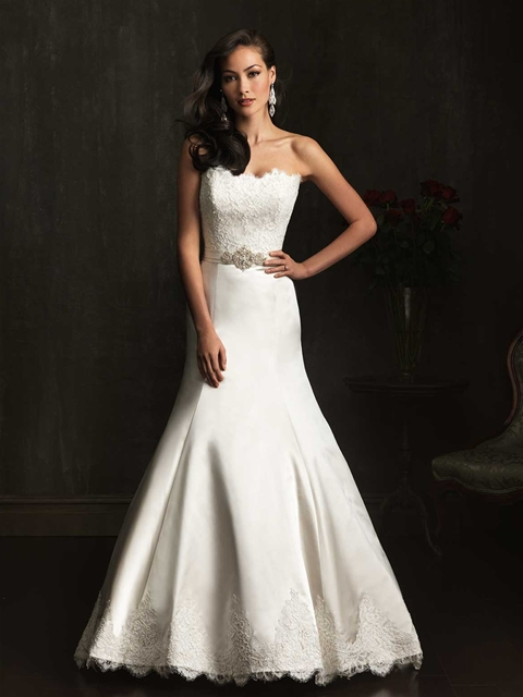 Flabby Arms in a Wedding Dress