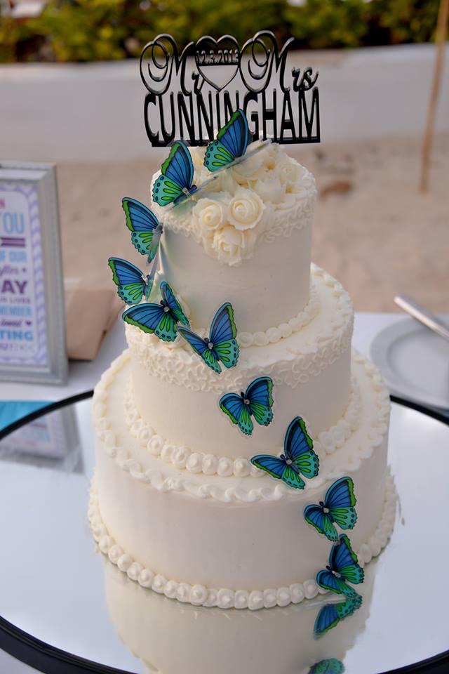 vanilla cake was yum!