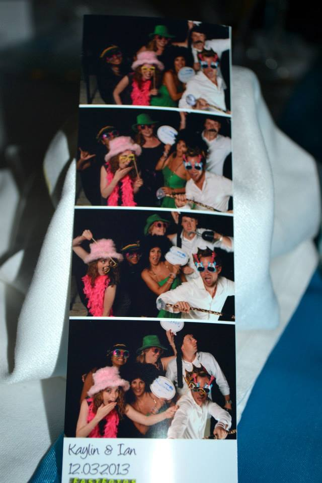 we had a photo booth!