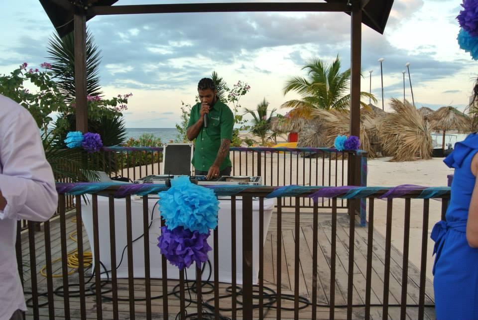 DJ Blu from Margaritaville