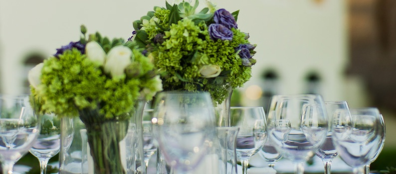 Colonial Charm   Centerpieces