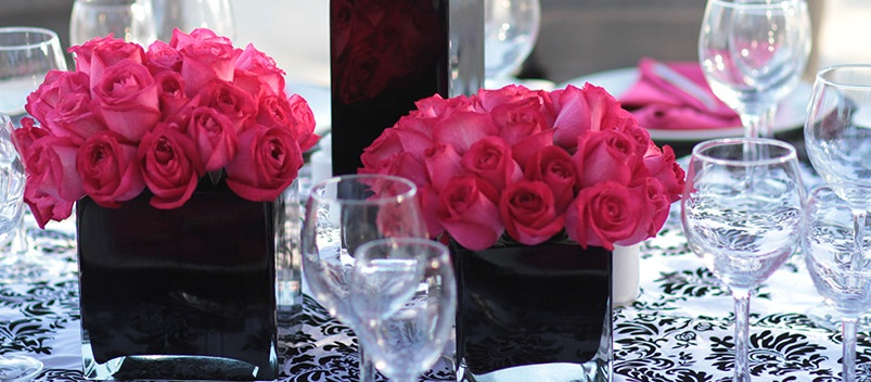 Sophisticated Soiree   Centerpiece
