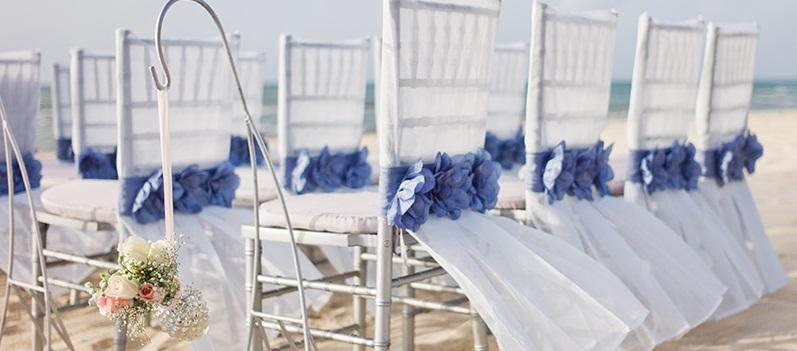 Vintage Elegance   Chairs ceremony