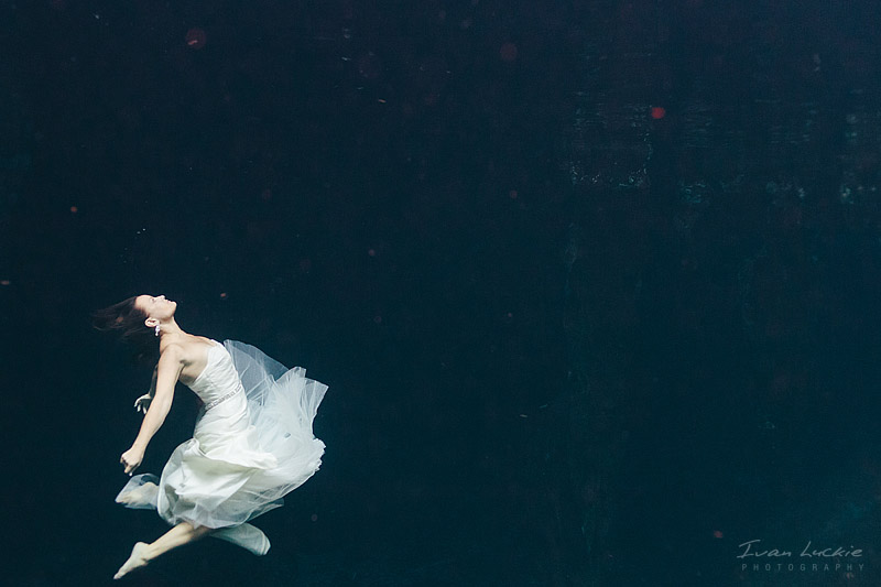 Cenote Trash The dress photographer   Katrina&Michael   Ivan Luckie Photography