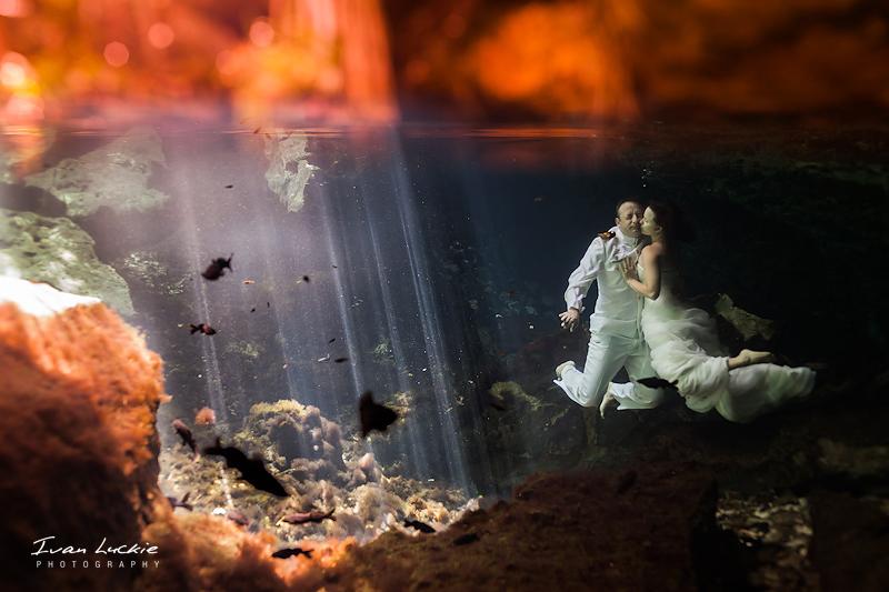 Angela&Jason   Cenote Azul & Buho  LuckiePhotography 1