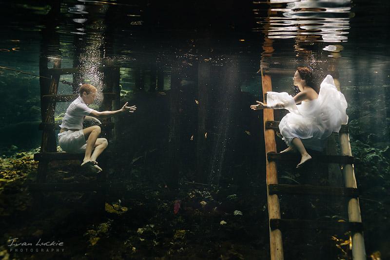 hope hands Grand Cenote Tulum LuckiePhotography 1