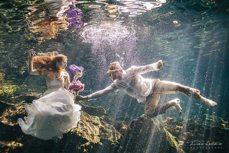 Sofia+Mike - Cenote underwater Trash the dress Photographer - Ivan Luckie Photography-2.jpg