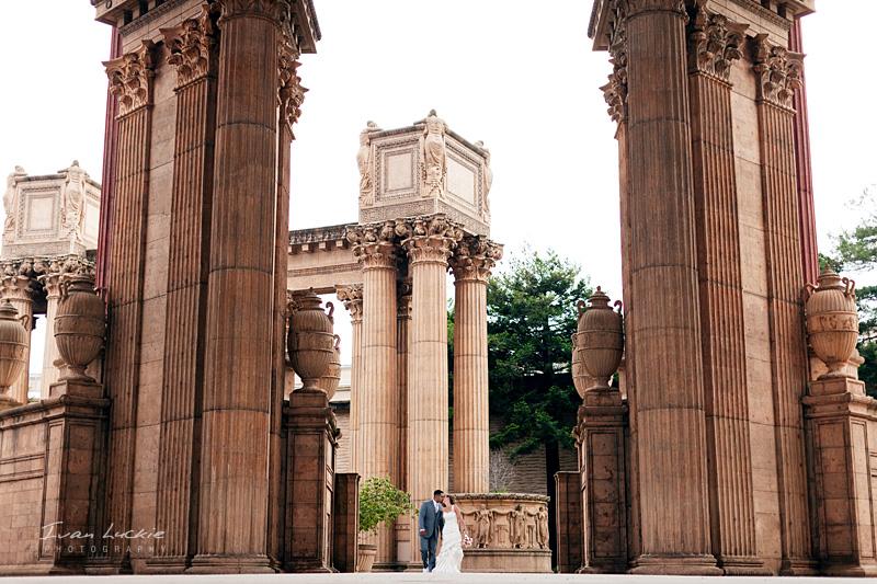 San Francisco Wedding   LuckiePhotography