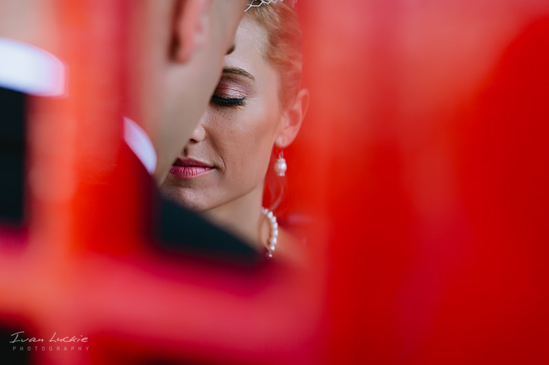Bride In Red   Luckie Photography