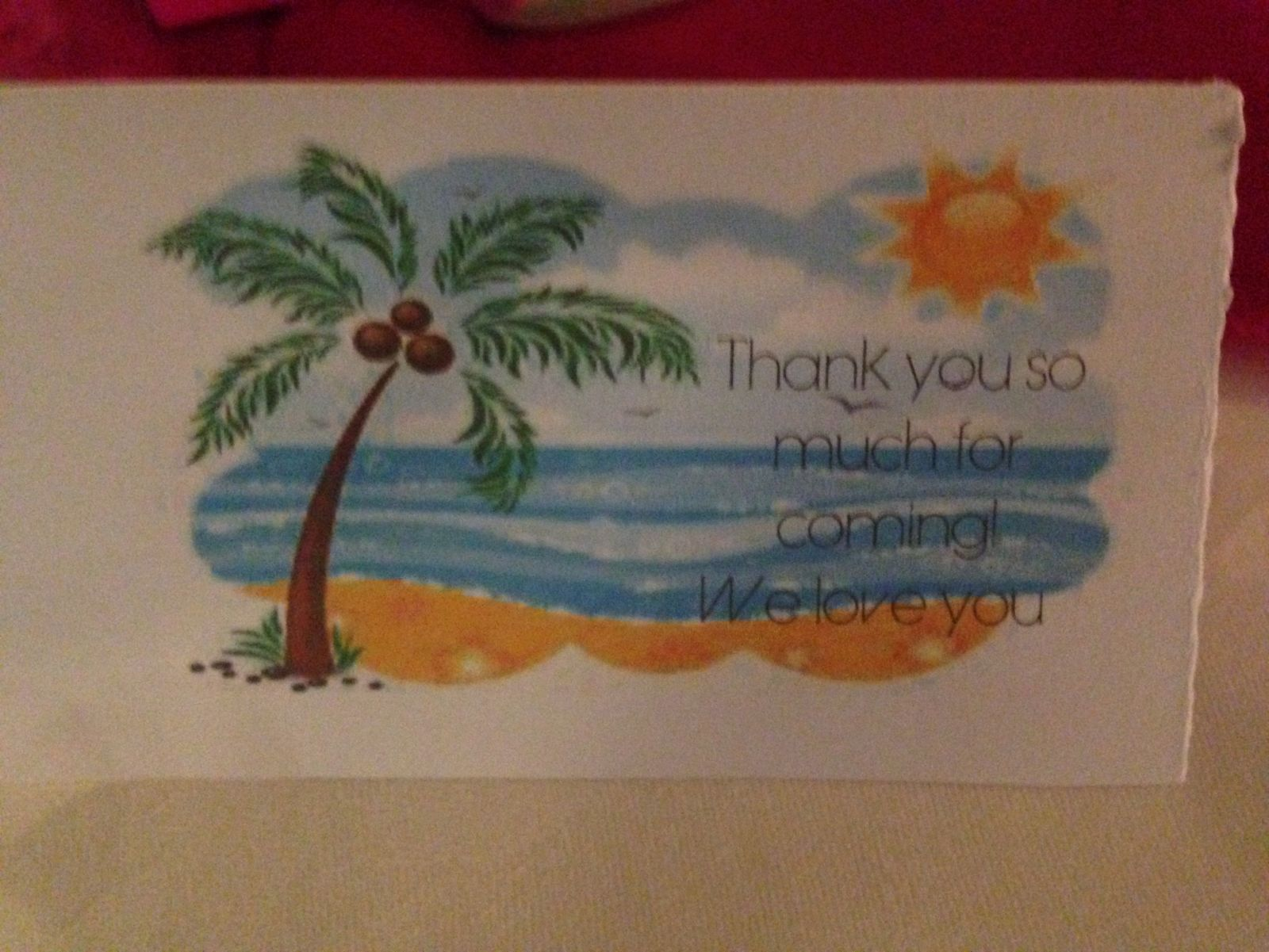 Side 2 Of Tent tag