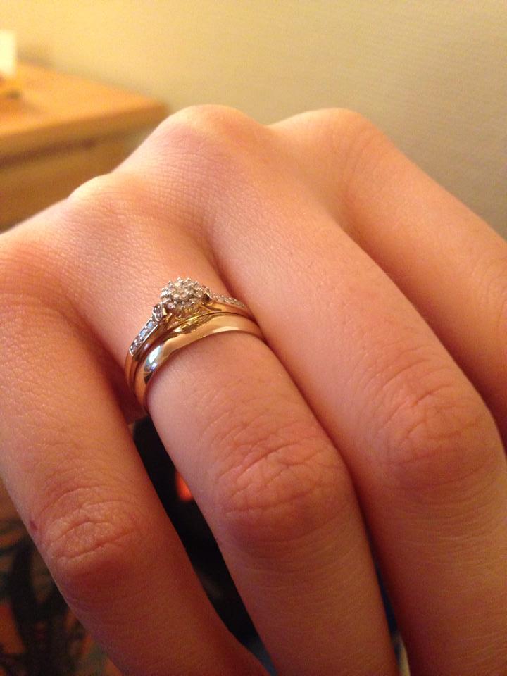 On my finger