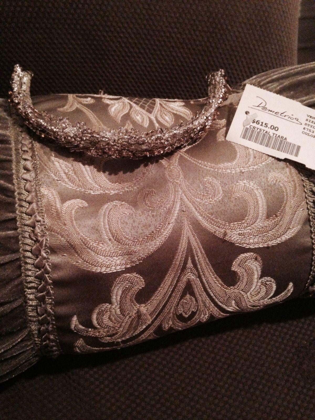 New with Tags Demetrios Silver Crystal Tiara