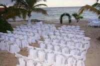 beach venue with upgrades