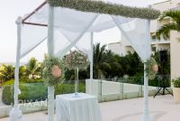 Live Aqua wedding setups l1066611