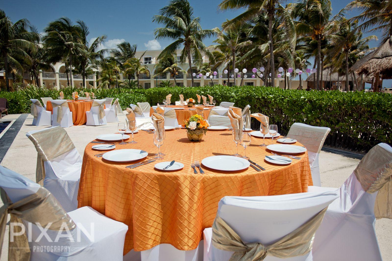 Dreams Tulum Wedding venues and setups  31