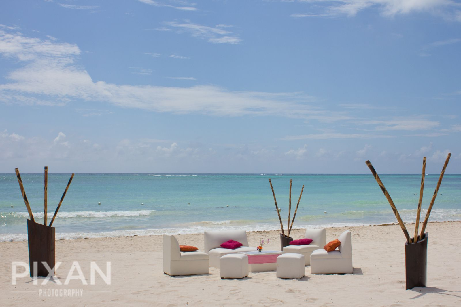 Dreams Tulum Wedding venues and setups  63