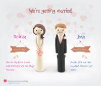 Belinda and Josh wedding announcement sig